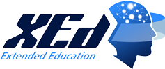 Logo XEDUCATION Azul 237x100
